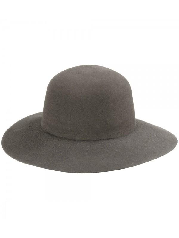 Chapéu Campeiro Feltro Modelo Pança de Burro - Caqui
