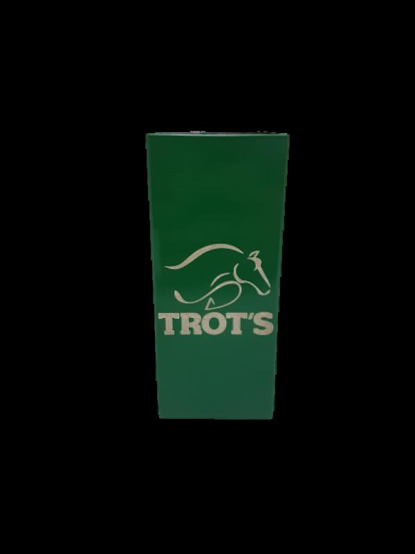 Copo Inox Tereré Quadrado Verde - Trot's
