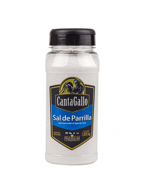 Sal De Parrilla Argentino - 1,010 Kg