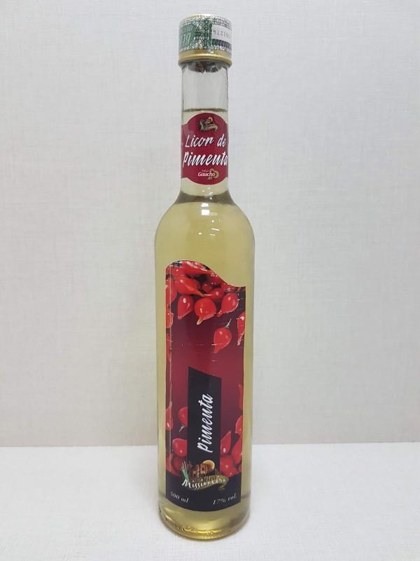 Licor de Cachaça Sabor Pimenta - 500 ml