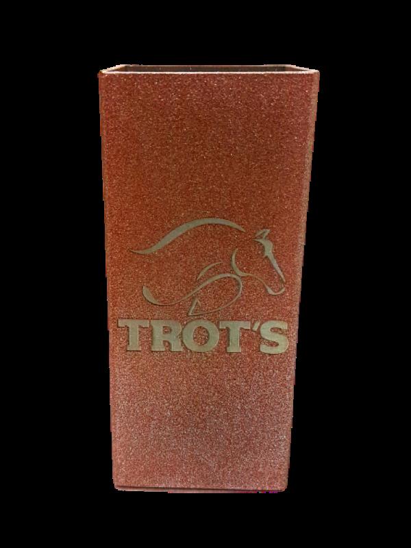 Copo Tereré Inox Quadrado Rosê - Trot's